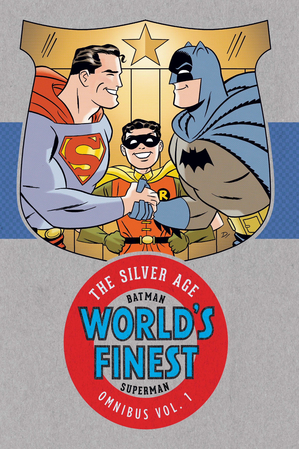 BATMAN SUPERMAN SILVER AGE OMNIBUS HC VOL 01