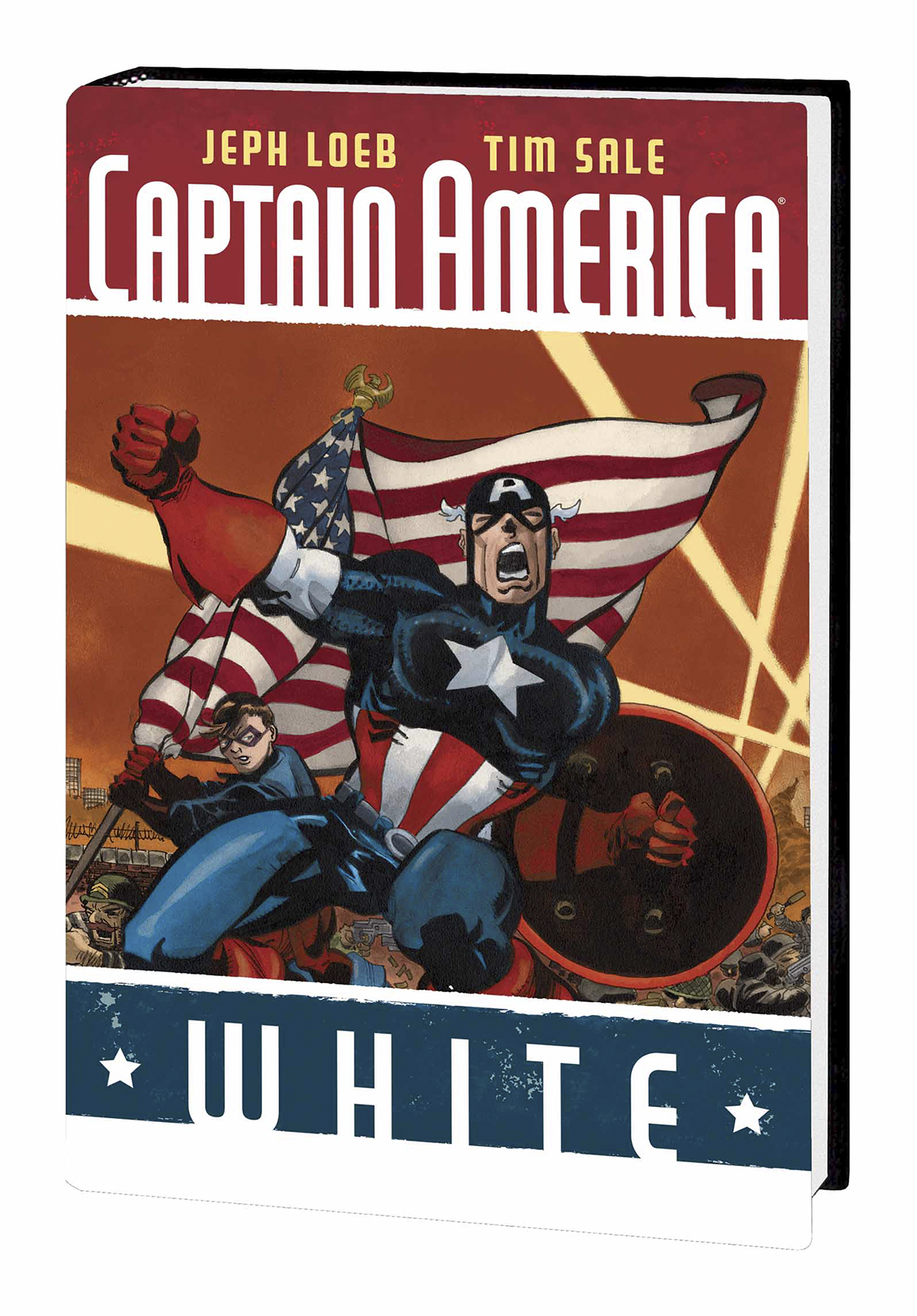 CAPTAIN AMERICA HC WHITE