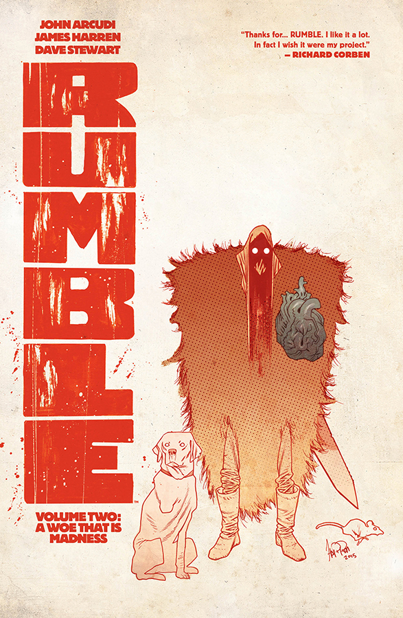 RUMBLE TP VOL 02 A WOE THAT IS MADNESS