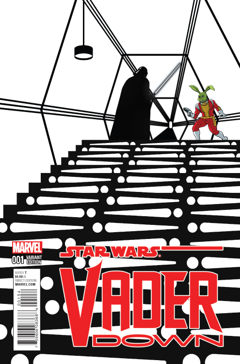 STAR WARS VADER DOWN #1 ZDARSKY JAXXON SPOTLIGHT VAR