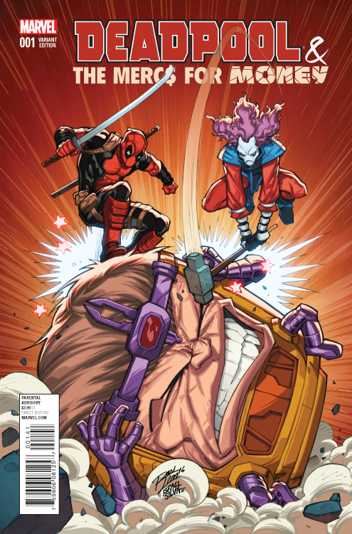DEADPOOL MERCS FOR MONEY #1 (OF 5) LIM VAR