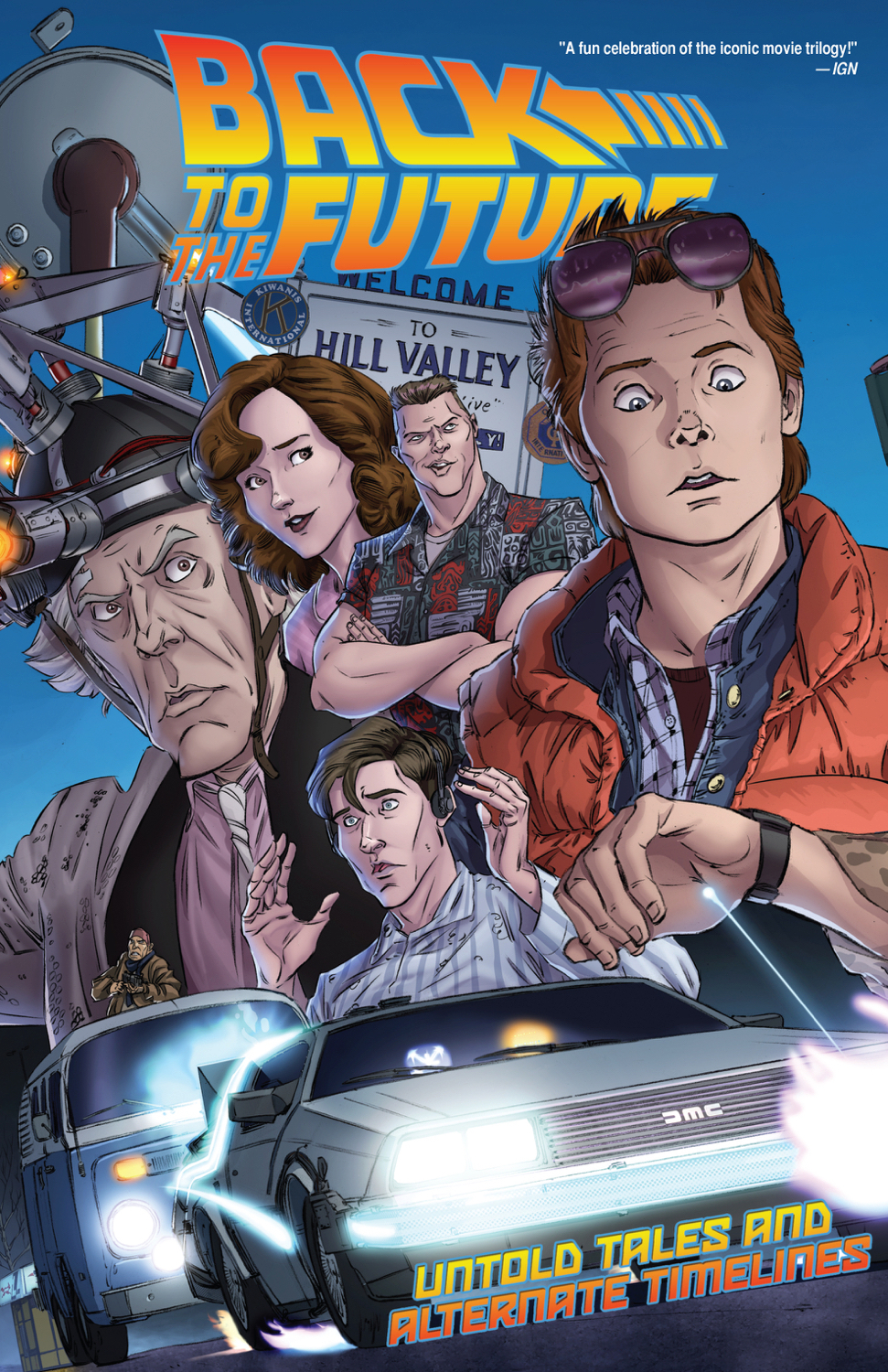 BACK TO THE FUTURE TP VOL 01 UNTOLD TALES & ALT TIMELINES