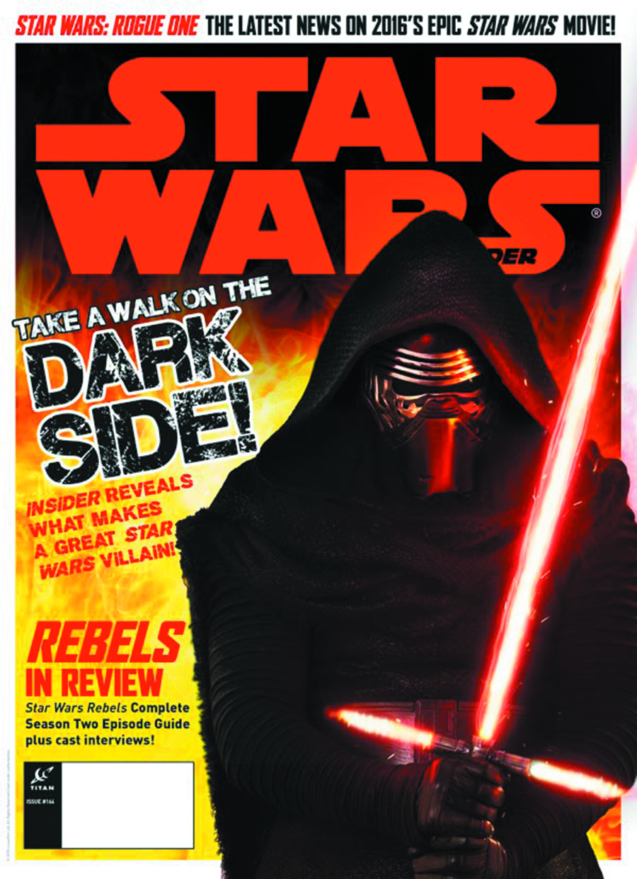 STAR WARS INSIDER MAG #164 NEWSSTAND ED