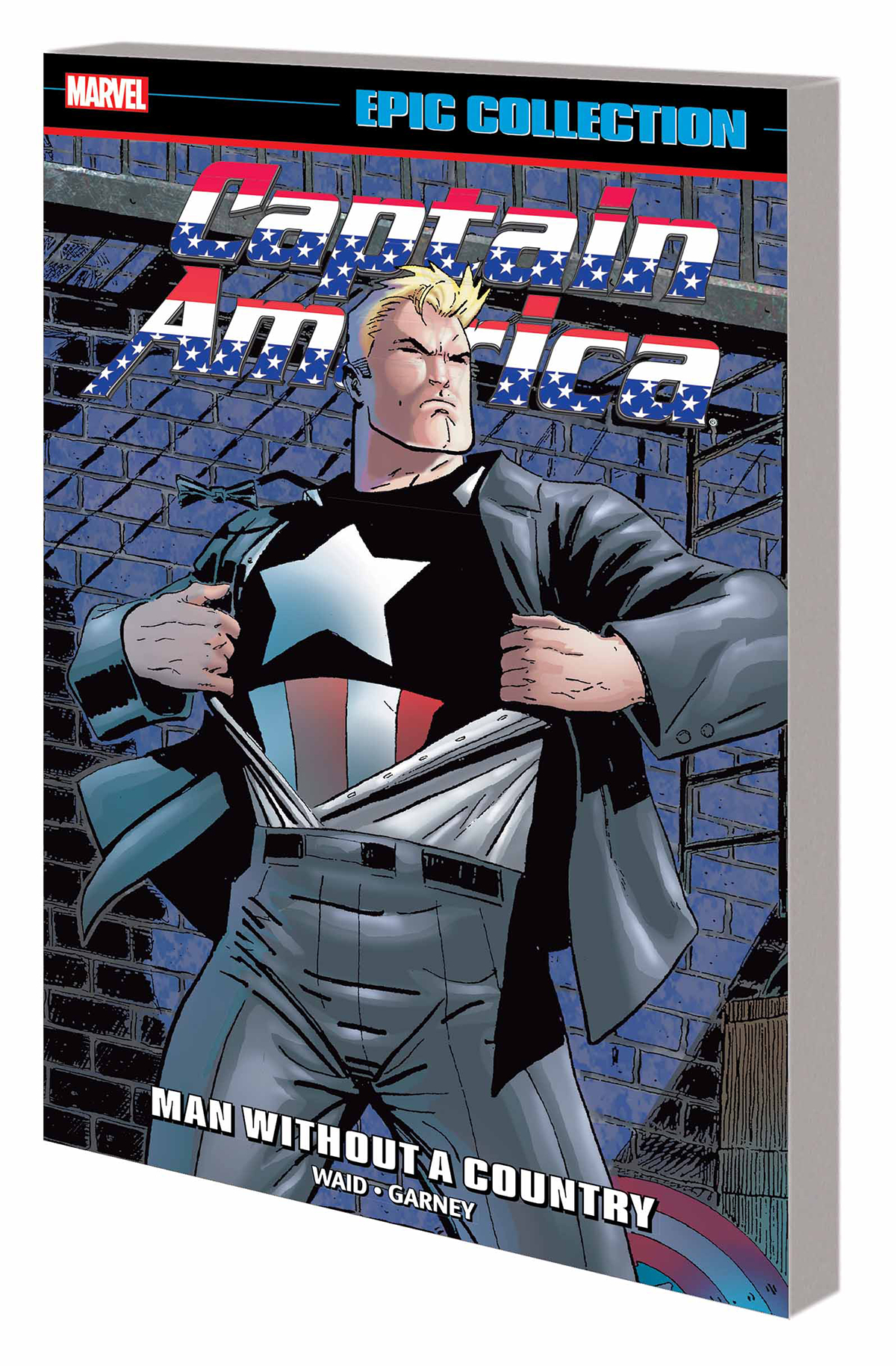 CAPTAIN AMERICA EPIC COLL TP MAN WITHOUT A COUNTRY