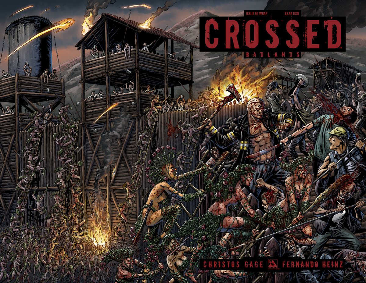 CROSSED BADLANDS #95 WRAP CVR (MR)