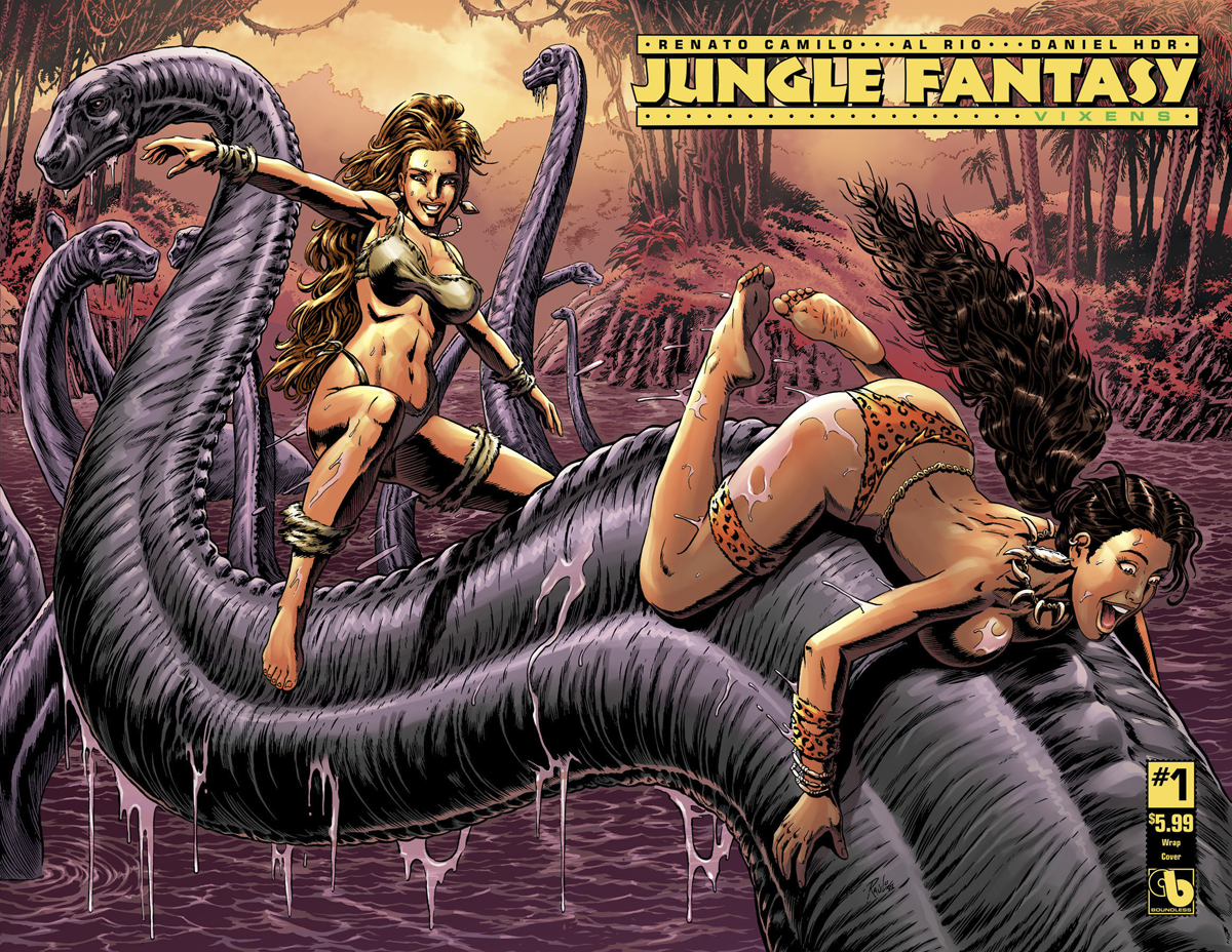 JUNGLE FANTASY VIXENS #1 (OF 2) WRAP CVR (MR)