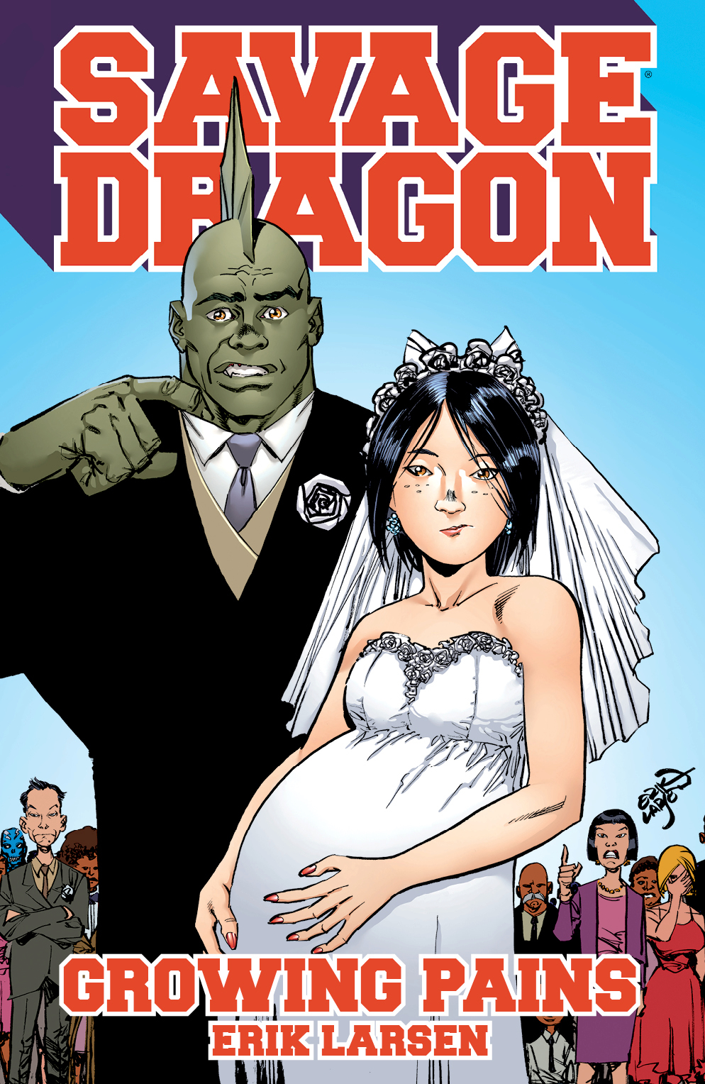SAVAGE DRAGON GROWING PAINS TP (MR)