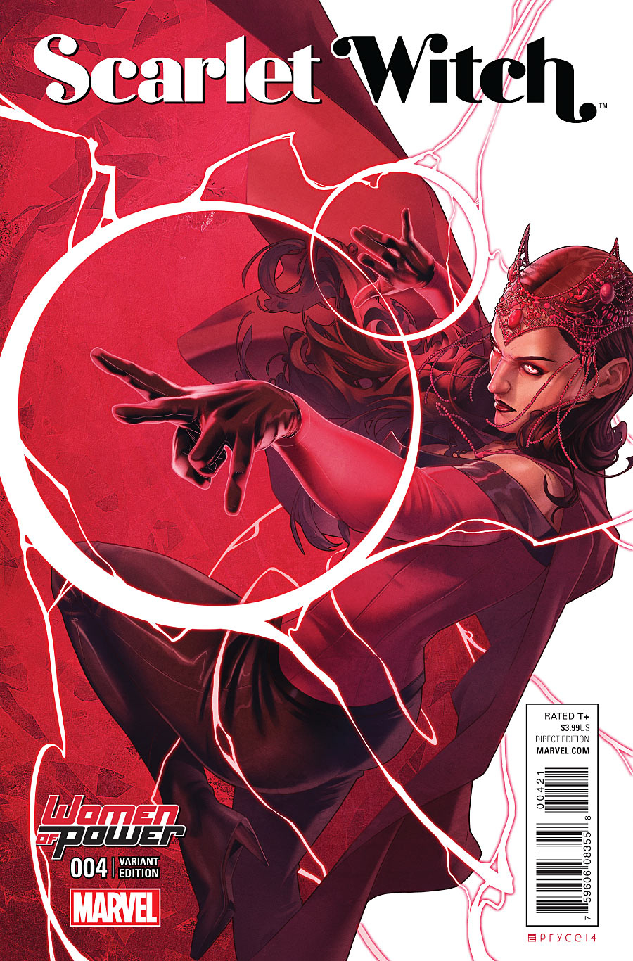SCARLET WITCH #4 CAMPBELL WOP VAR