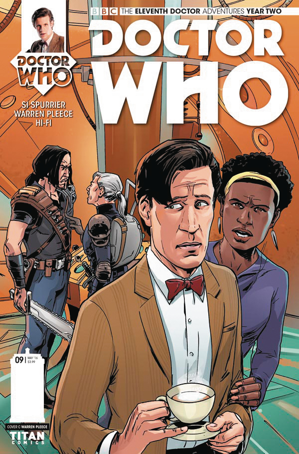 DOCTOR WHO 11TH YEAR TWO #9 CVR C PLEECE