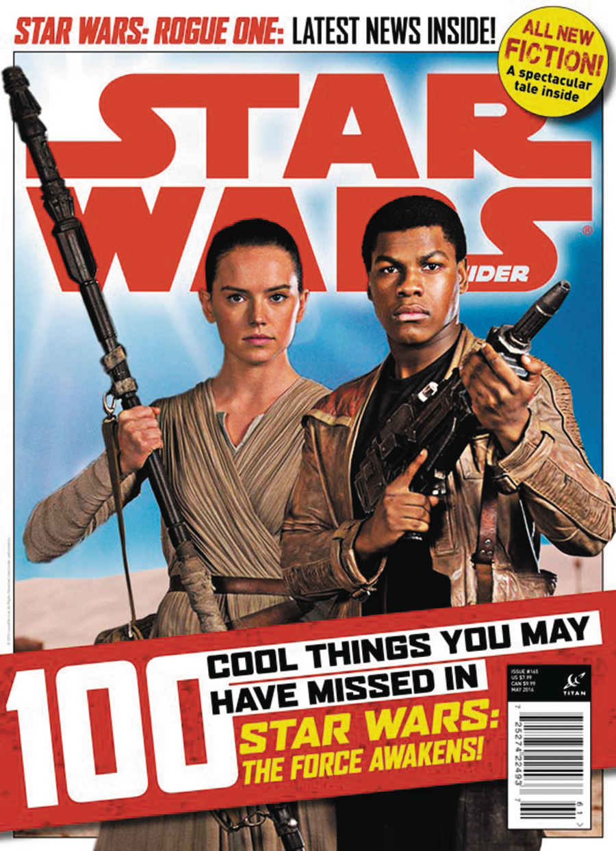 STAR WARS INSIDER MAG #165 NEWSSTAND ED