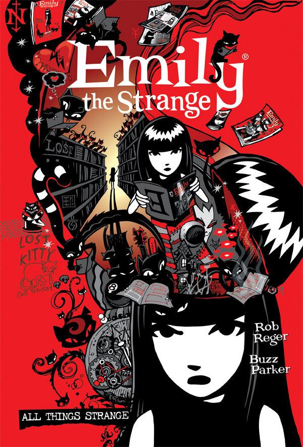 COMPLETE EMILY THE STRANGE ALL THINGS STRANGE HC