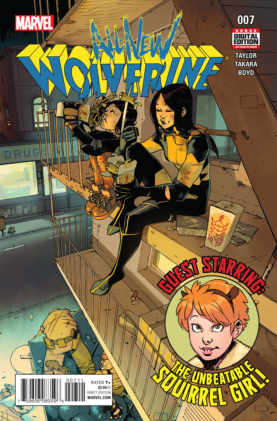 ALL NEW WOLVERINE #7
