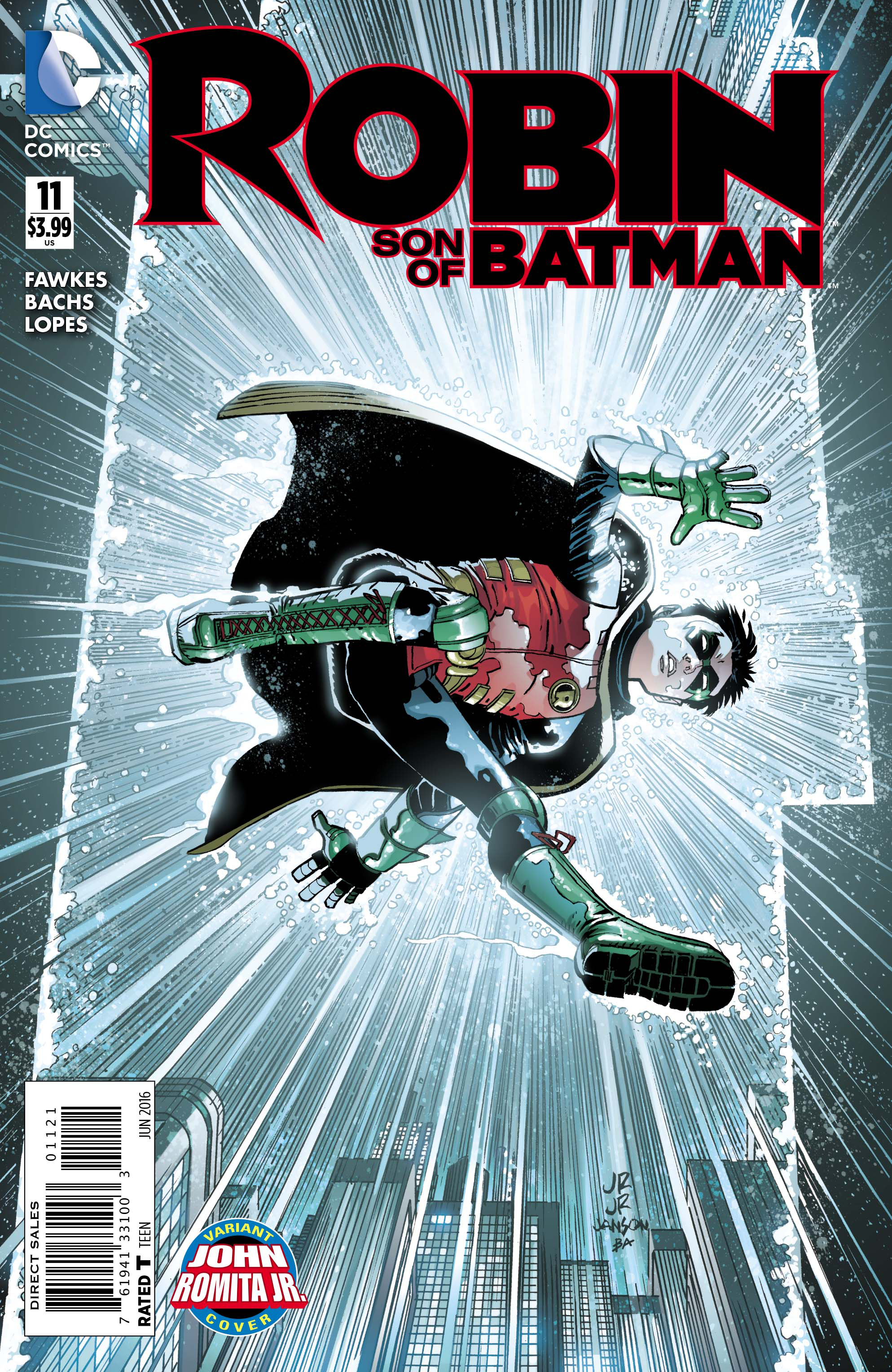 ROBIN SON OF BATMAN #11 ROMITA VAR ED