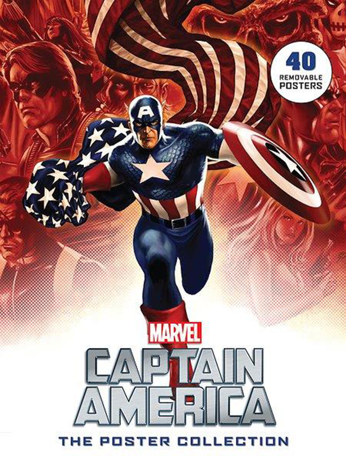 CAPT AMERICA COMICS POSTER COLLECTION SC