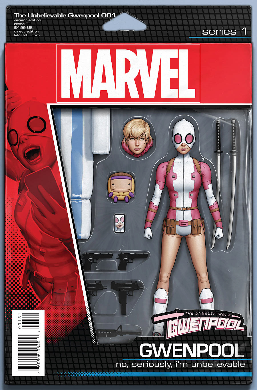 GWENPOOL #1 CHRISTOPHER ACTION FIGURE VAR