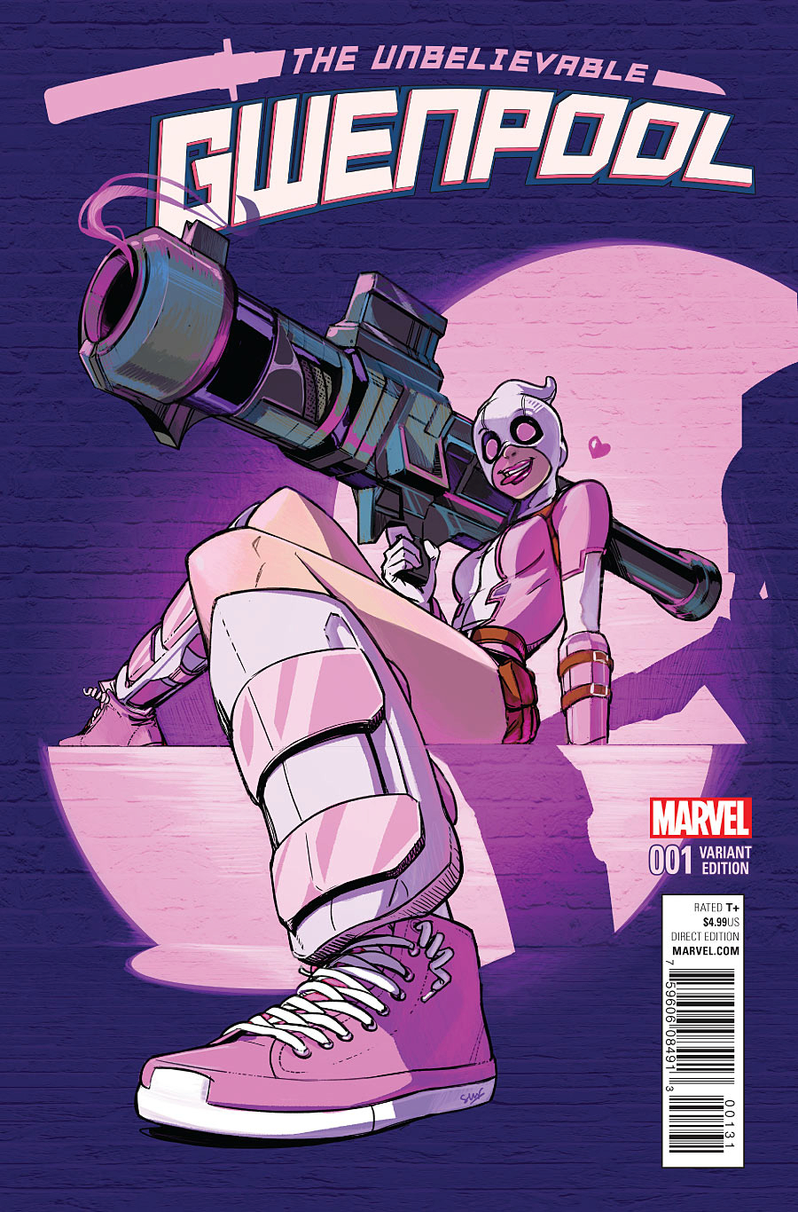 GWENPOOL #1 LEE VAR