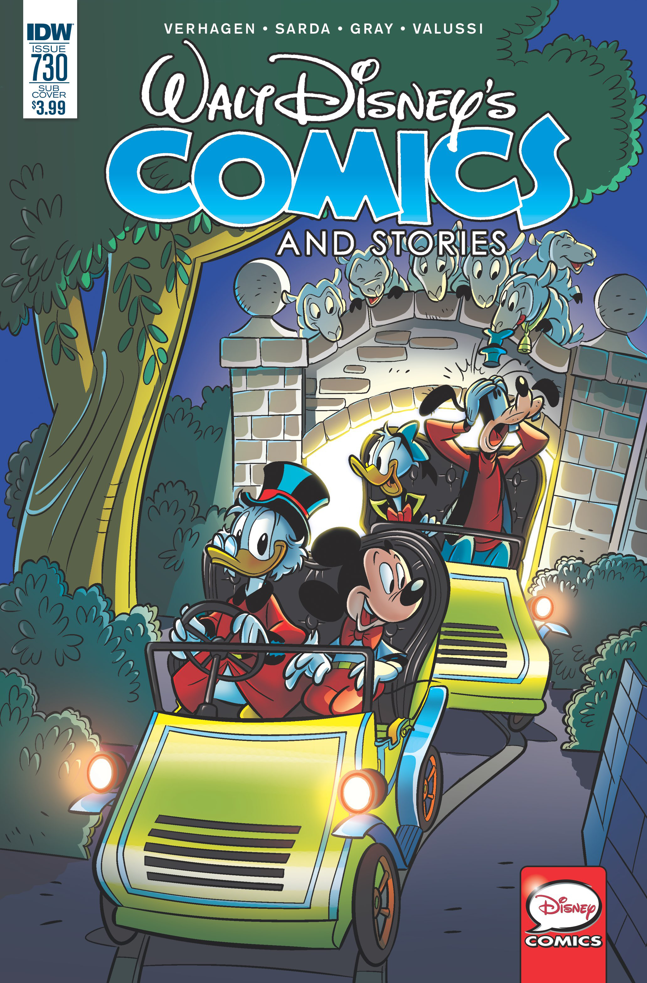 WALT DISNEY COMICS & STORIES #730 SUBSCRIPTION VAR