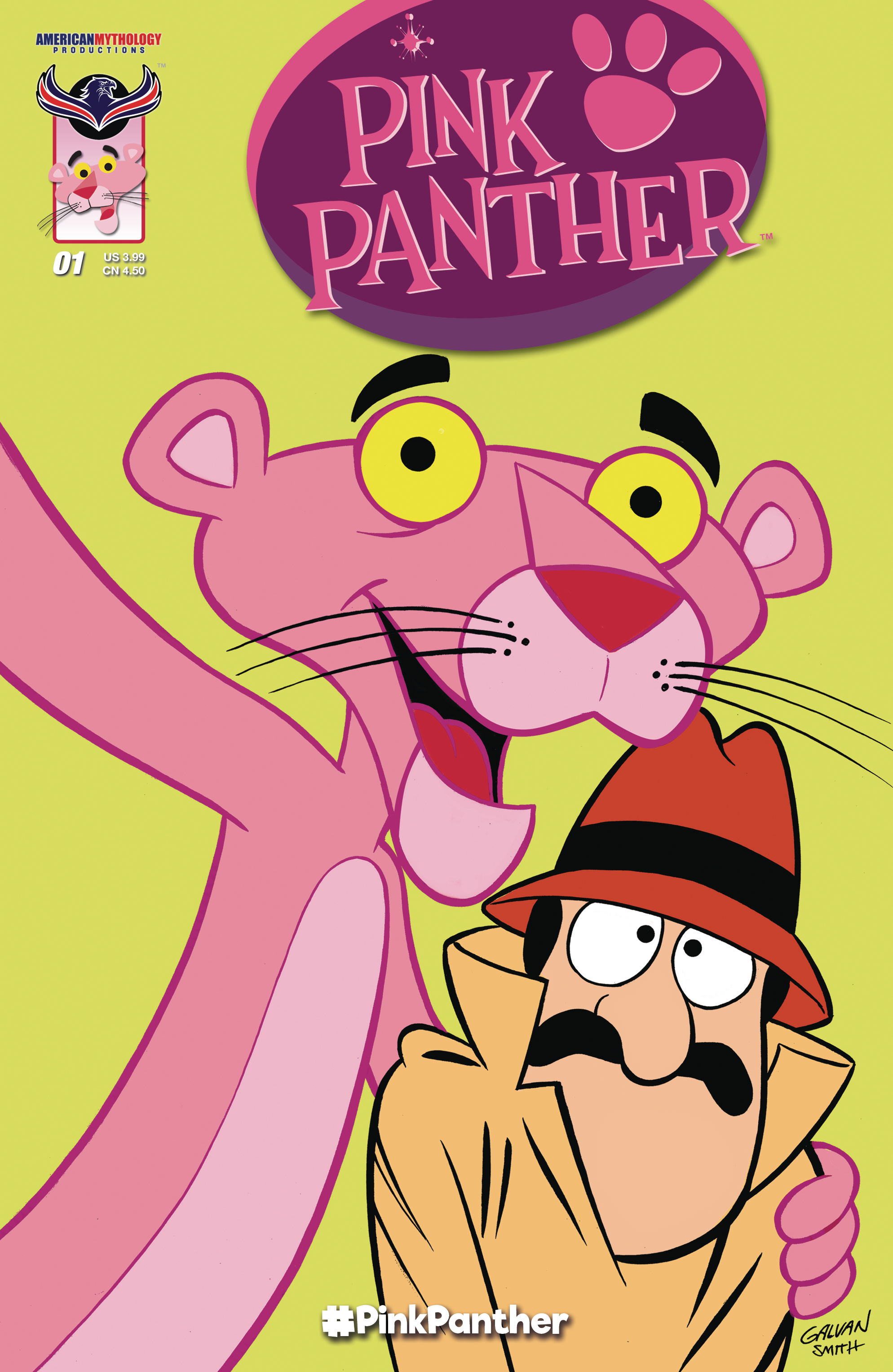 PINK PANTHER #1 MAIN CVR (O/A)