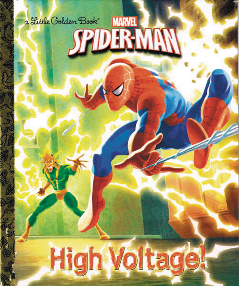 SPIDER-MAN HIGH VOLTAGE LITTLE GOLDEN BOOK REISSUE