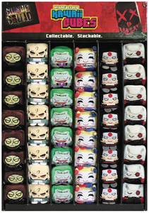 KAWAII CUBES SUICIDE SQUAD GRAVITY FEED 48PC DISPLAY ASST A