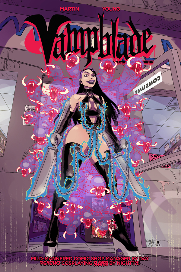 VAMPBLADE TP VOL 01 (MR)