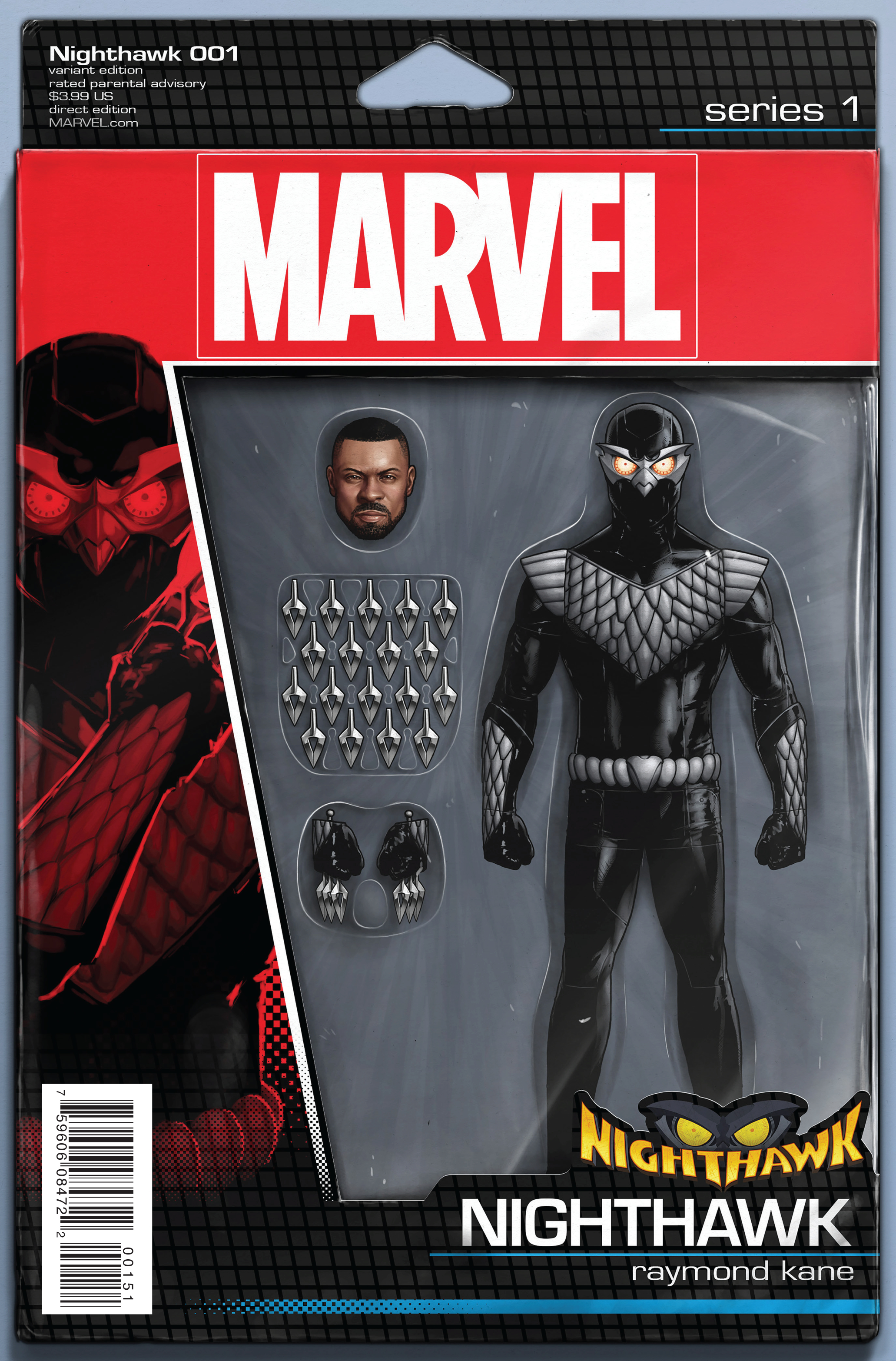 NIGHTHAWK #1 CHRISTOPHER ACTION FIGURE VAR