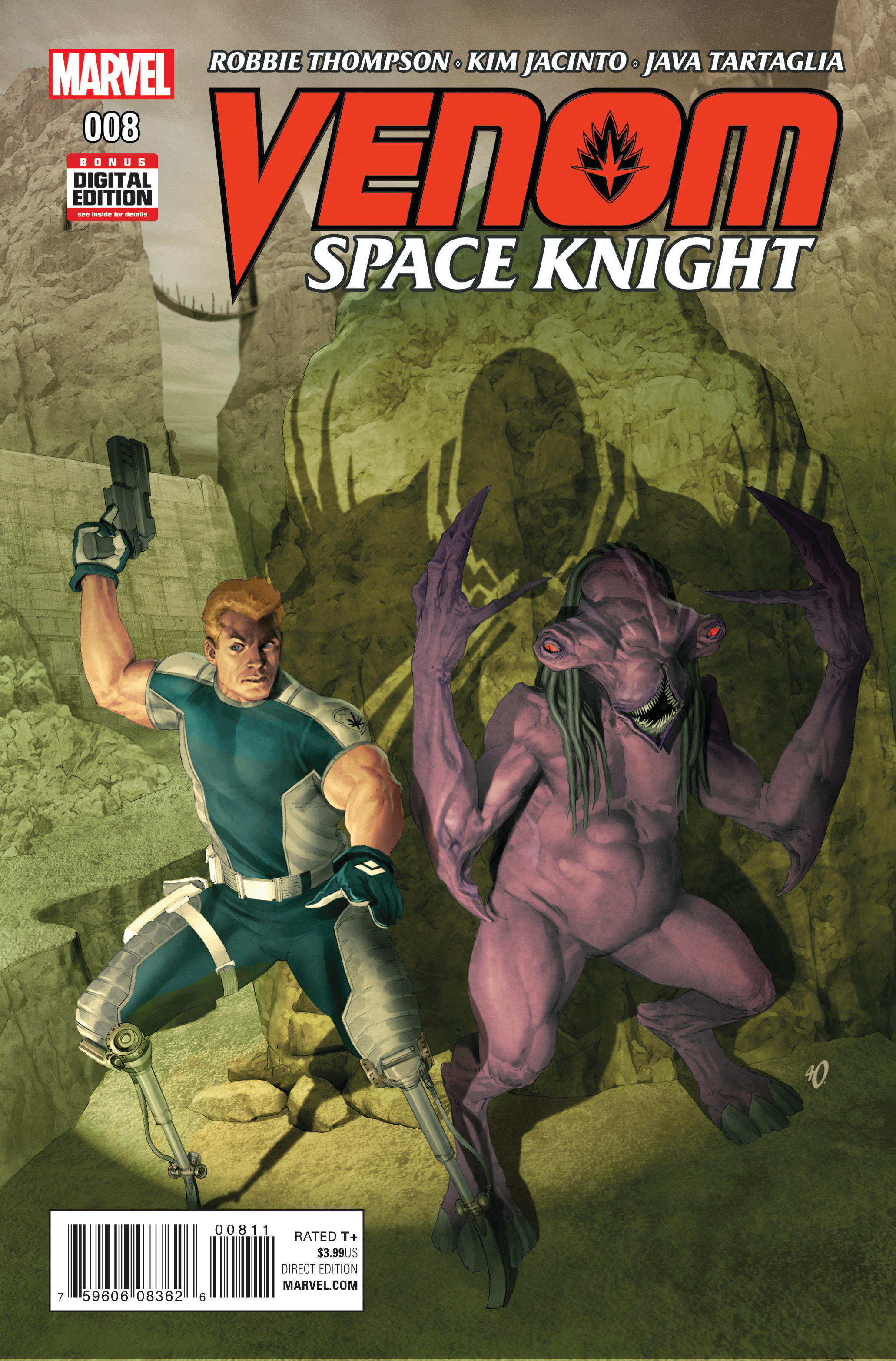VENOM SPACE KNIGHT #8