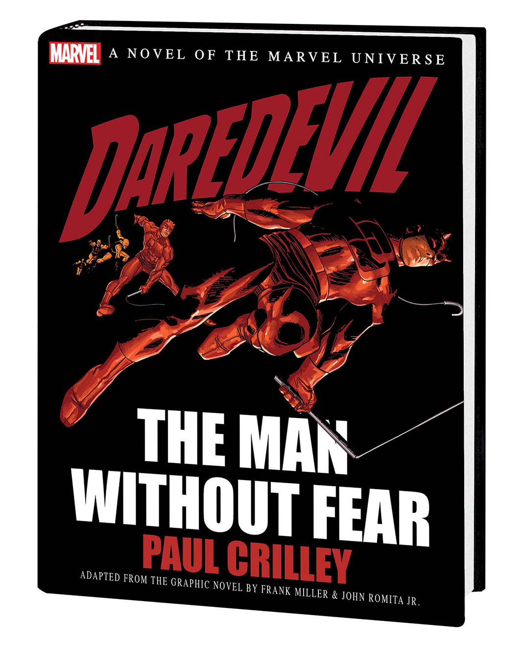 DAREDEVIL MAN WITHOUT FEAR PROSE NOVEL HC