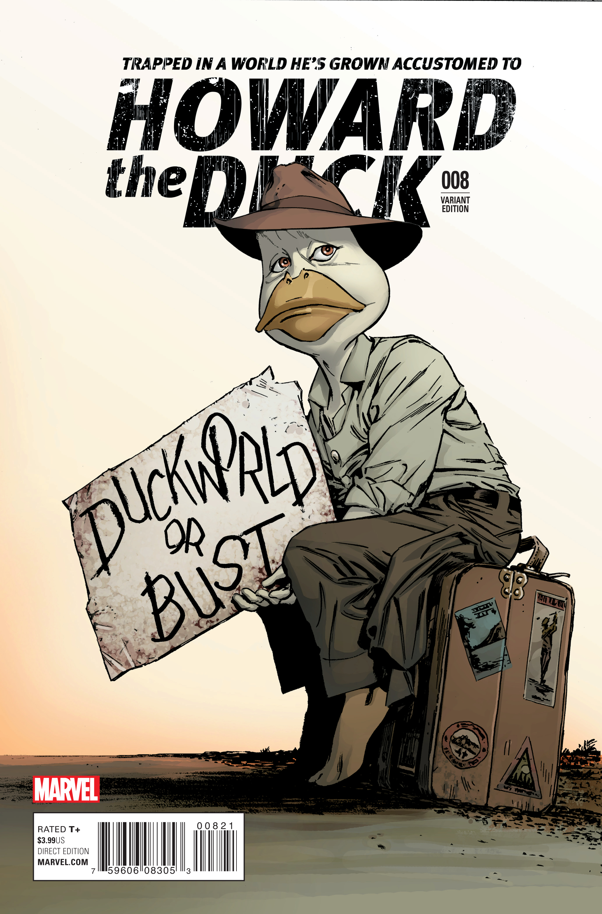 HOWARD THE DUCK #8 GUICE CLASSIC VAR