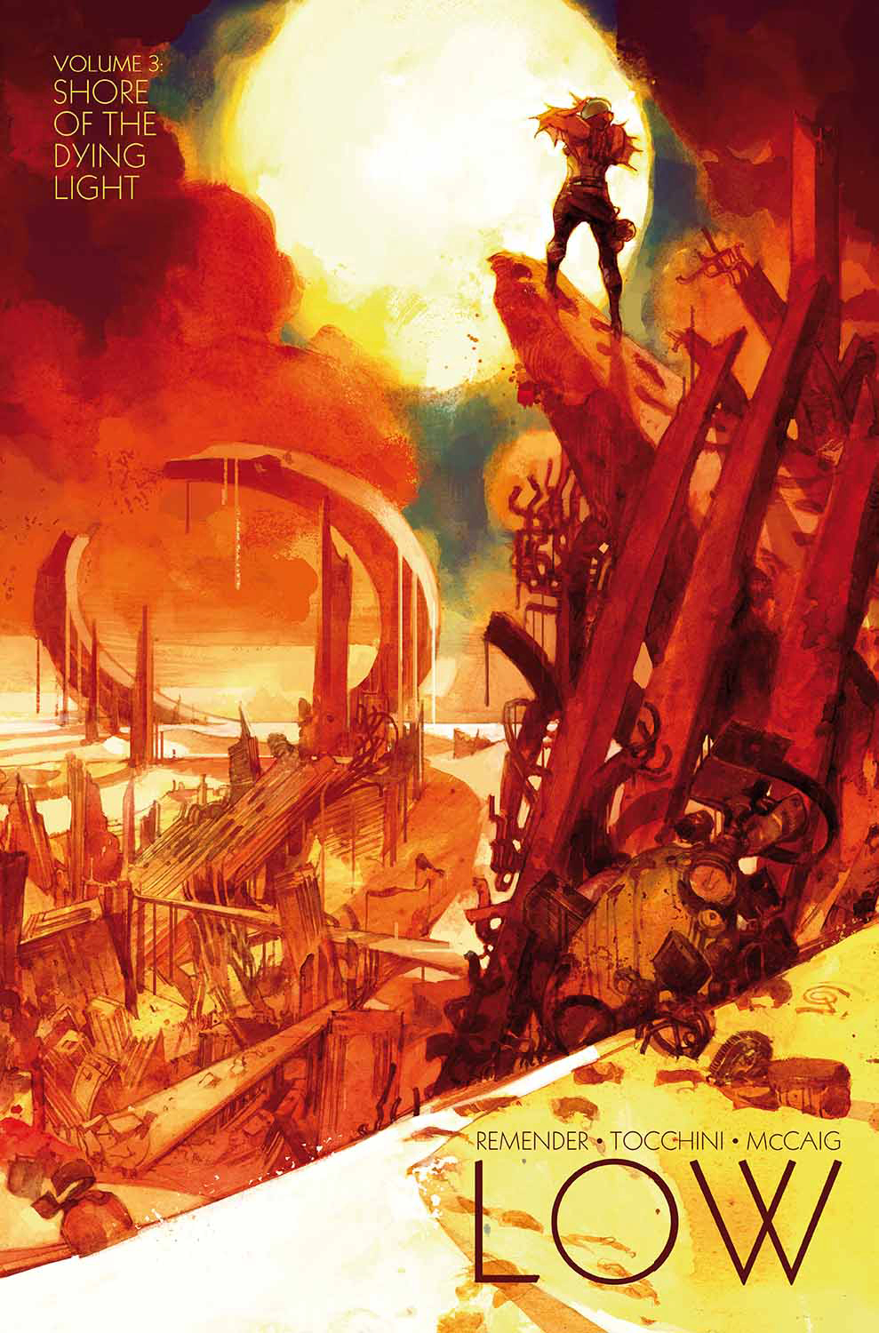 LOW TP VOL 03 SHORE OF THE DYING LIGHT (MR)