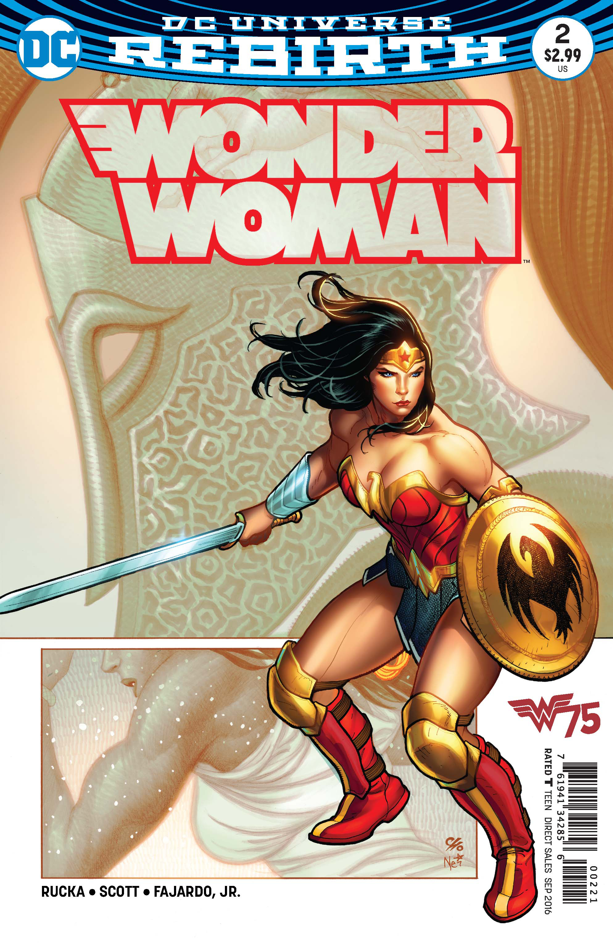WONDER WOMAN #2 VAR ED