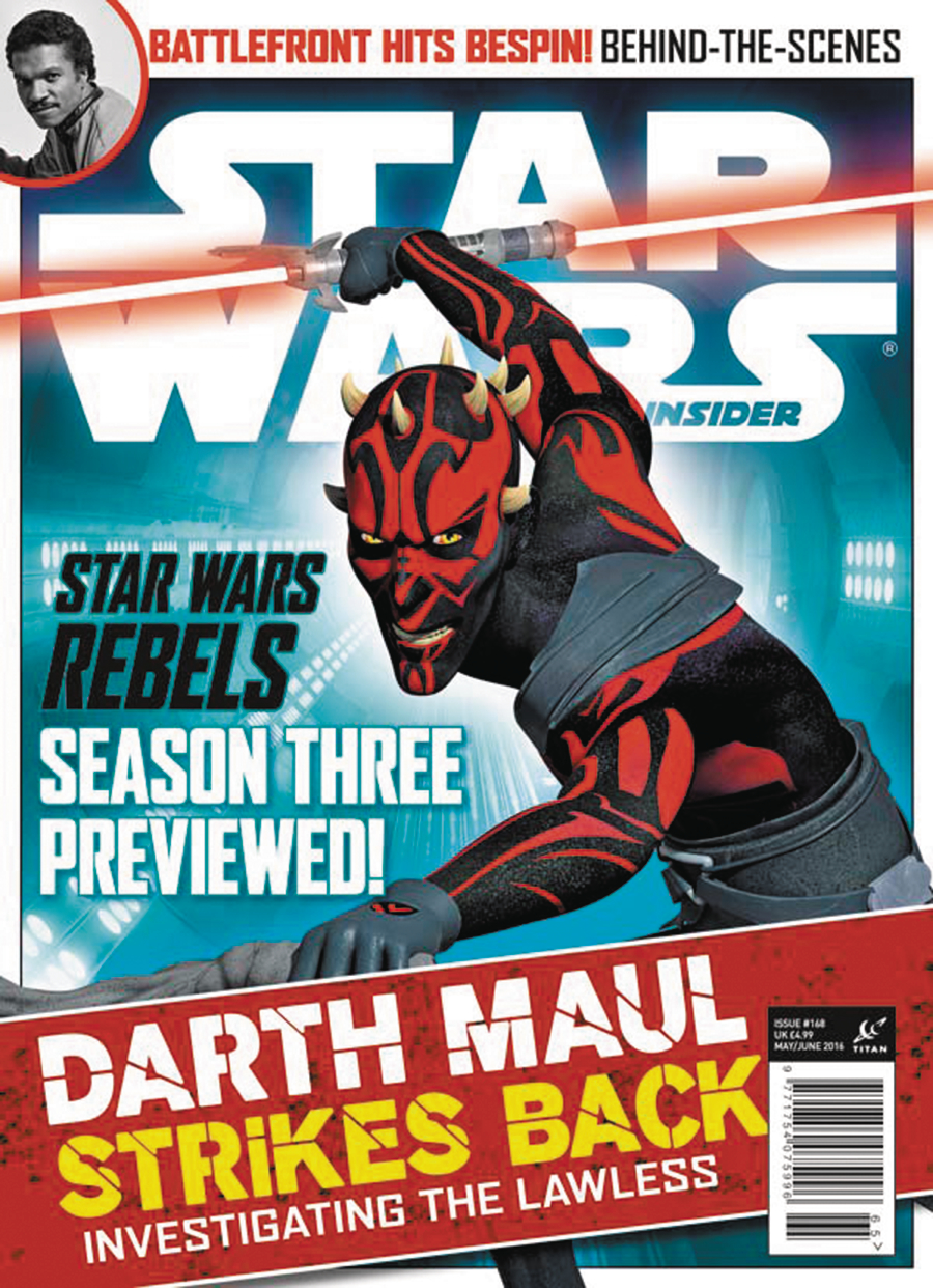 STAR WARS INSIDER #168 NEWSSTAND ED