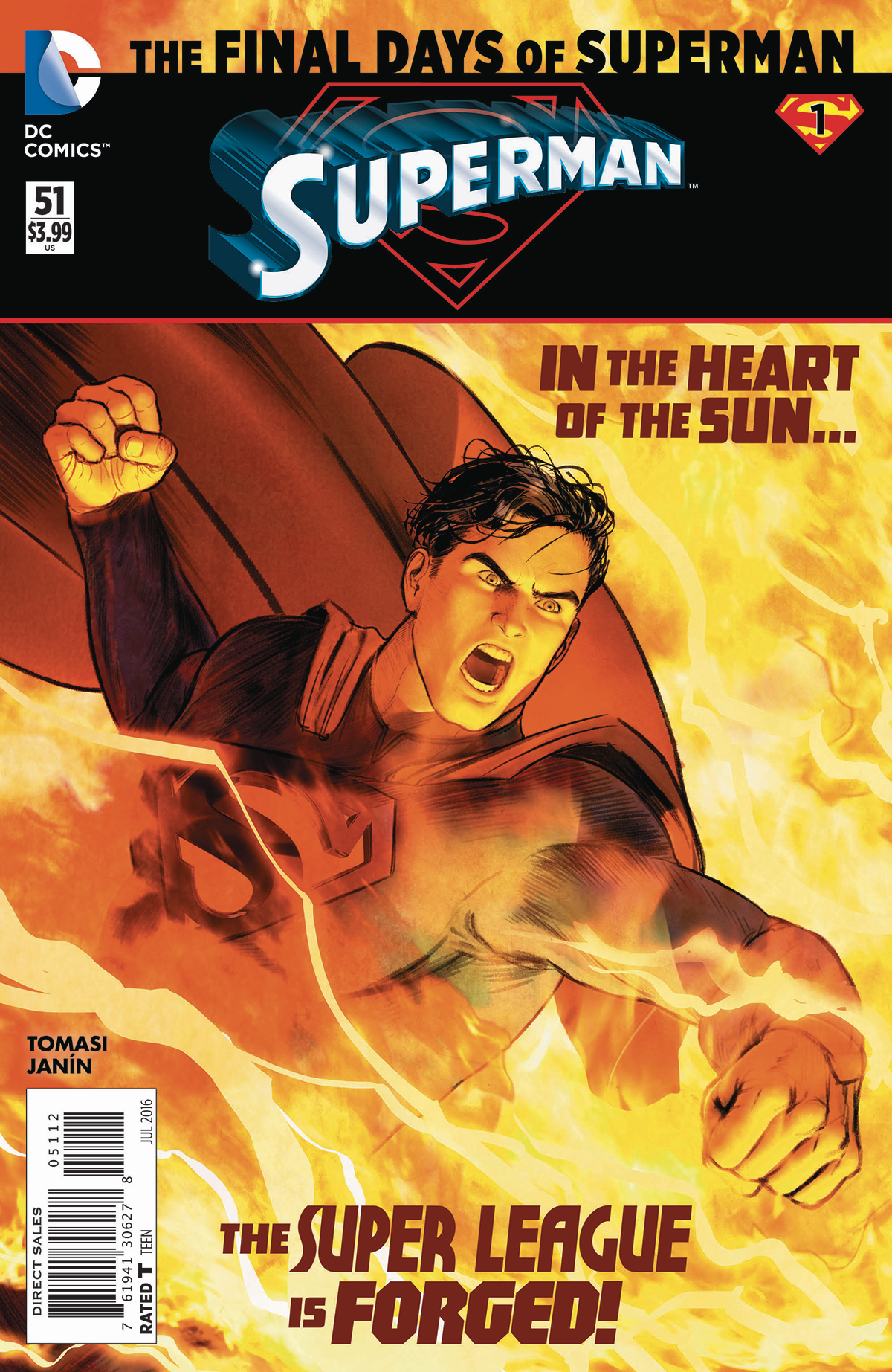 SUPERMAN #51 2ND PTG (FINAL DAYS)