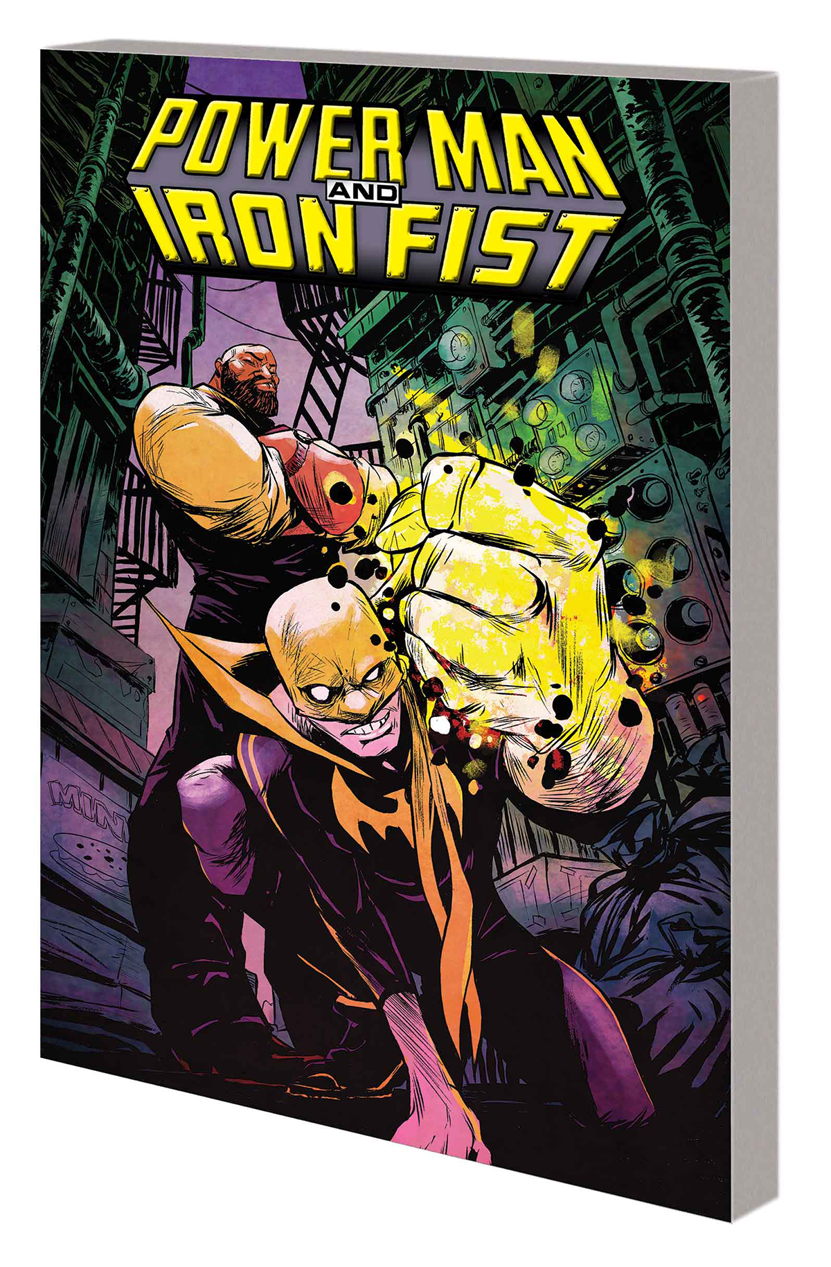 POWER MAN AND IRON FIST TP VOL 01 BOYS ARE BACK IN TOWN