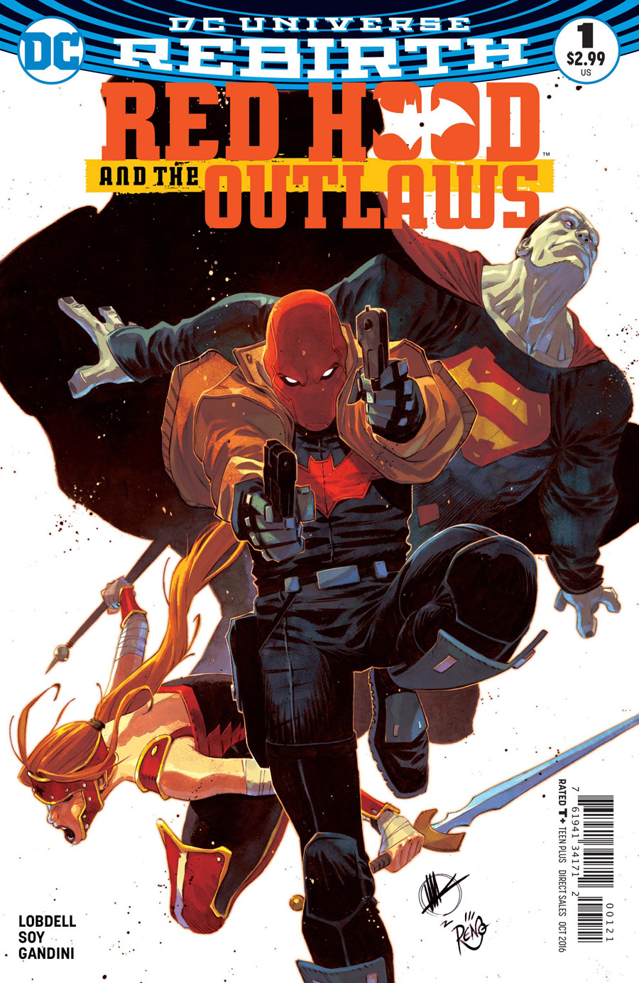RED HOOD AND THE OUTLAWS #1 VAR ED