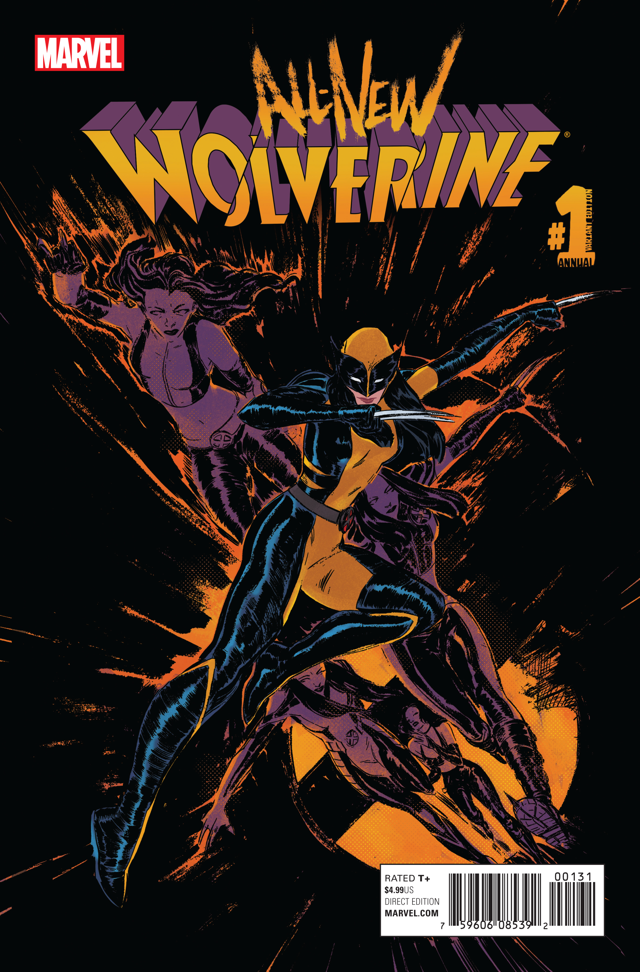 ALL NEW WOLVERINE ANNUAL #1 DEL REY VAR