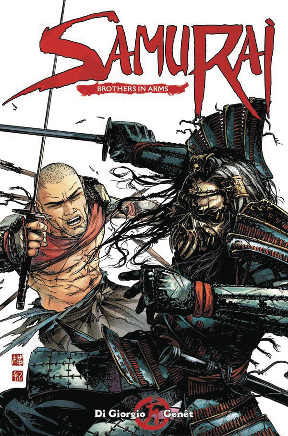 SAMURAI BROTHERS IN ARMS #1 (OF 6) CVR A GENET (MR)