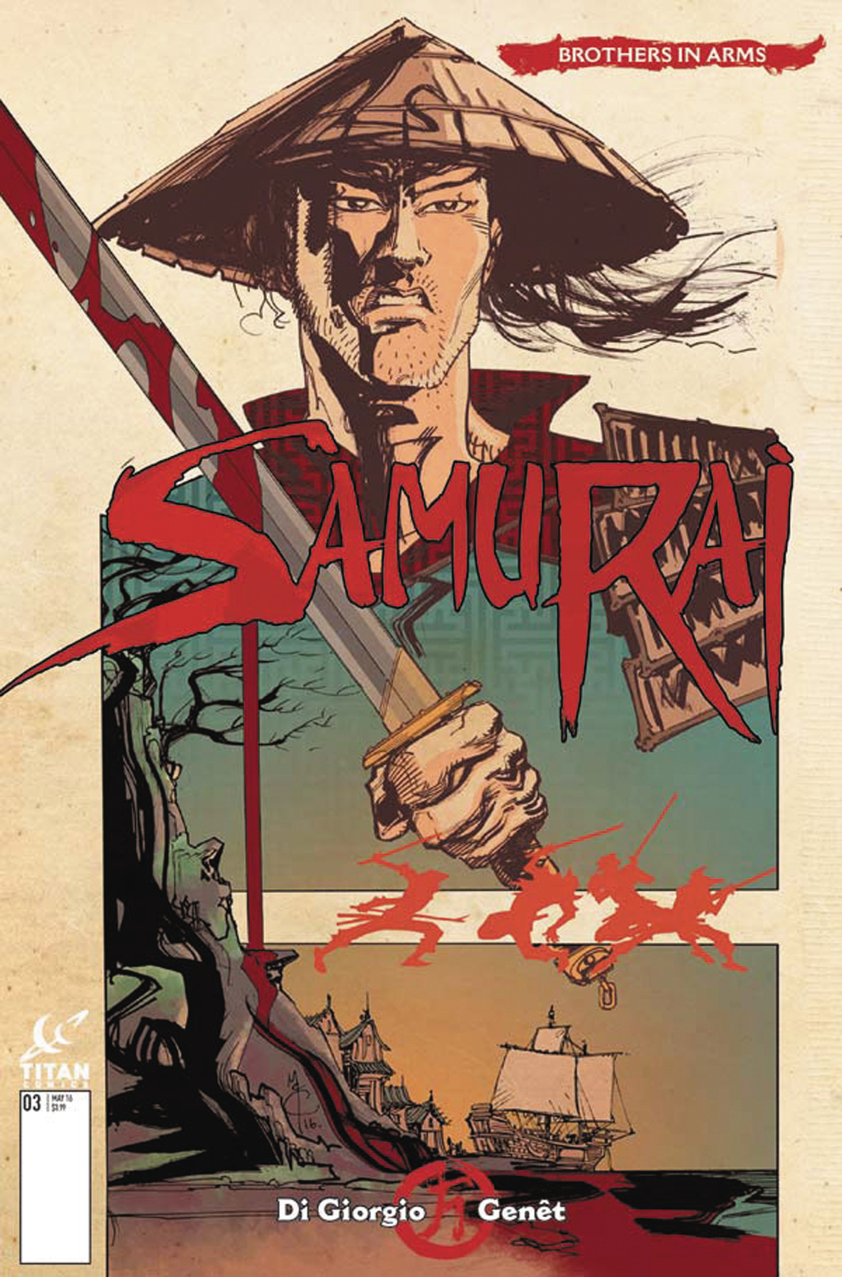 SAMURAI BROTHERS IN ARMS #1 (OF 6) CVR C MCCREA (MR)