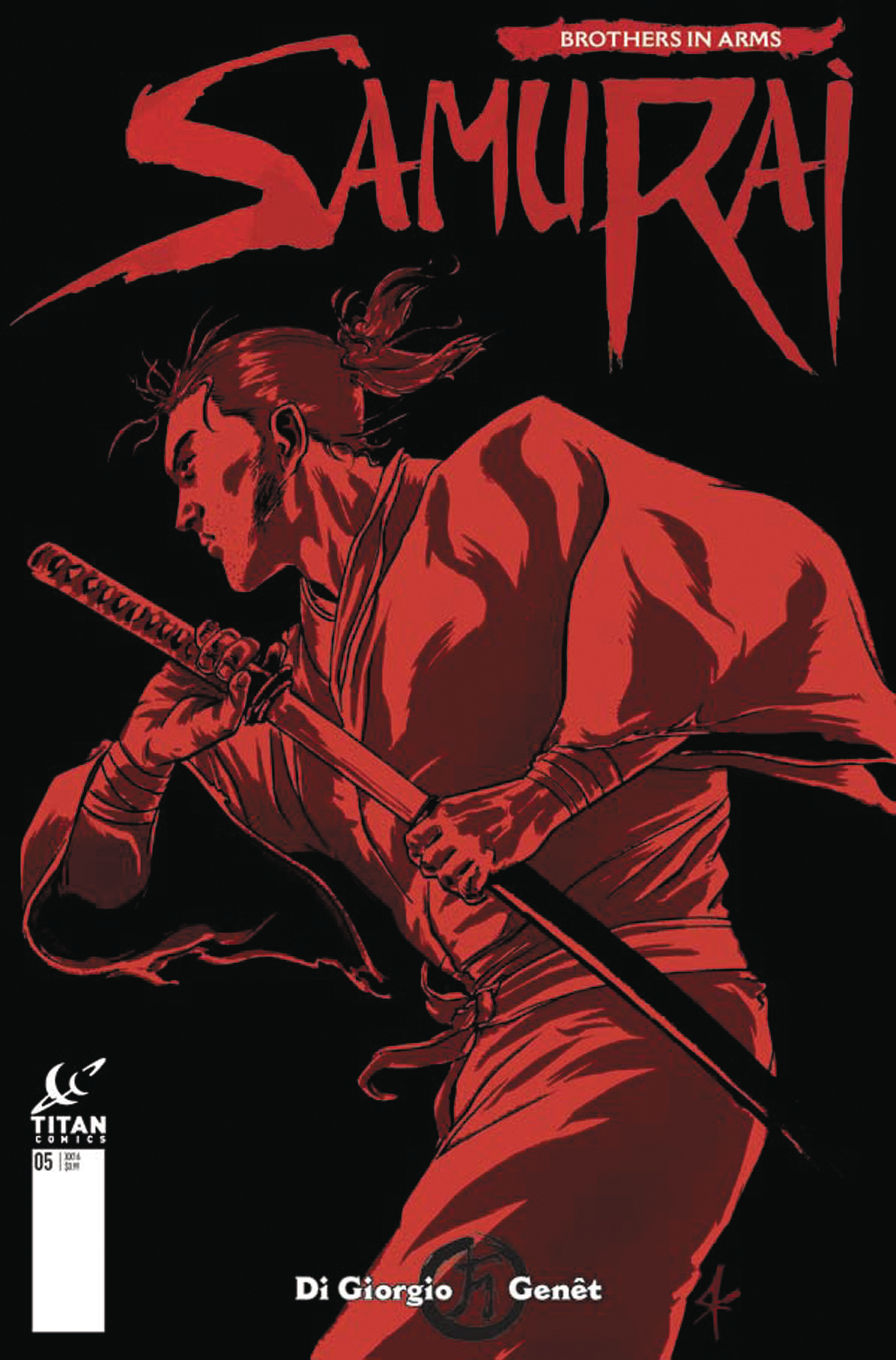 SAMURAI BROTHERS IN ARMS #1 (OF 6) CVR E KURTH (MR)