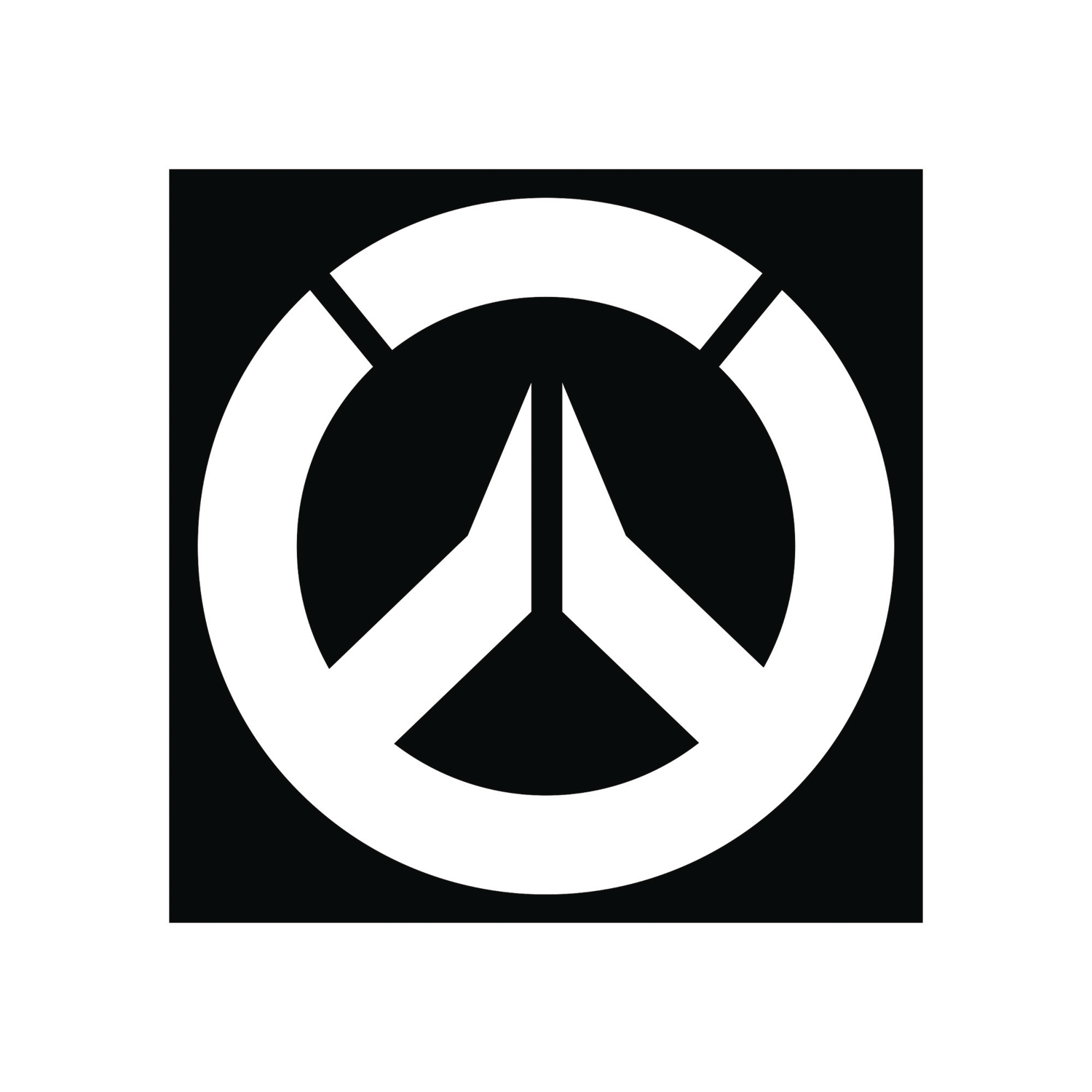 apr168526   overwatch logo vinyl decal   previews world