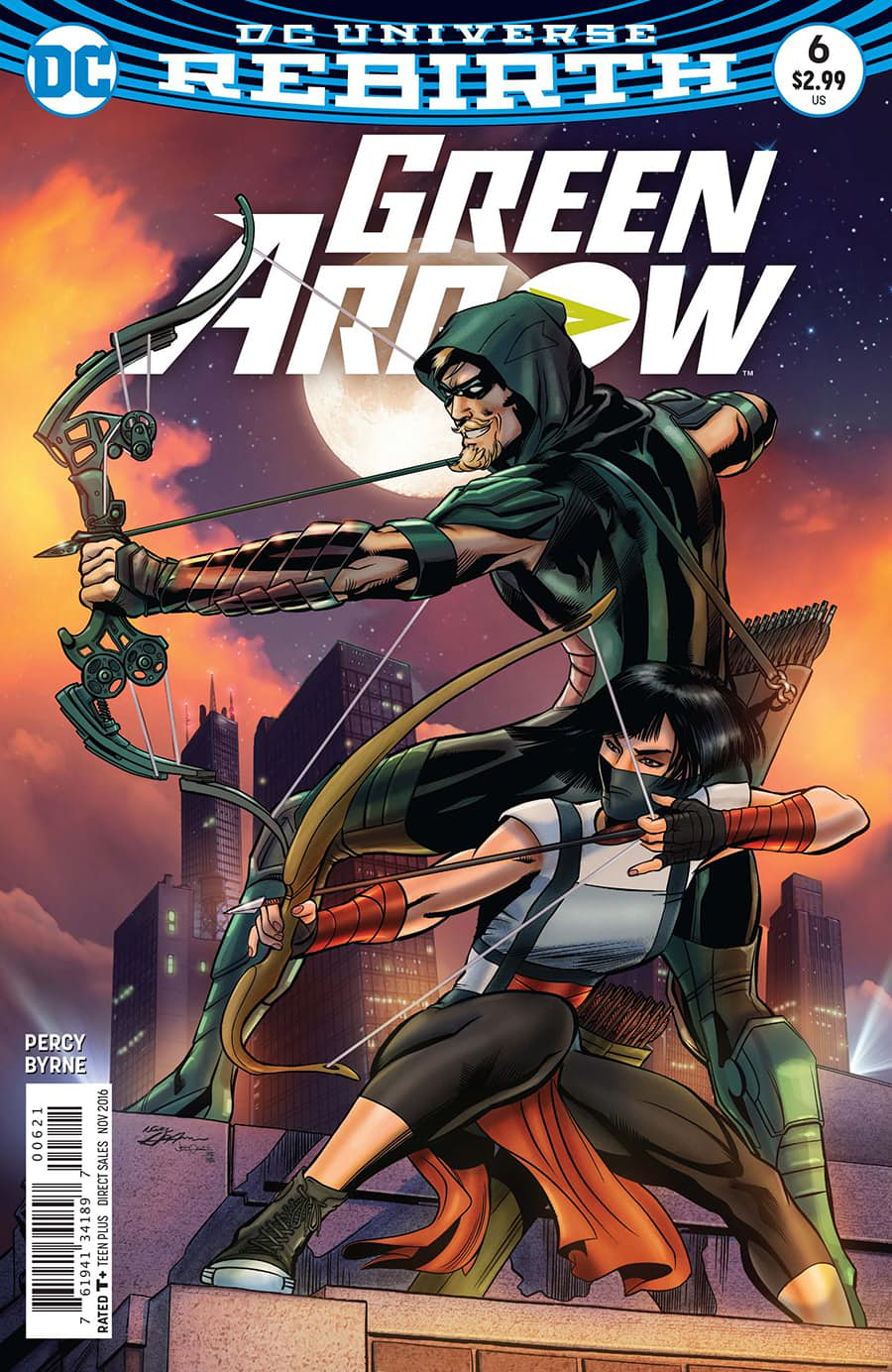 GREEN ARROW #6 VAR ED
