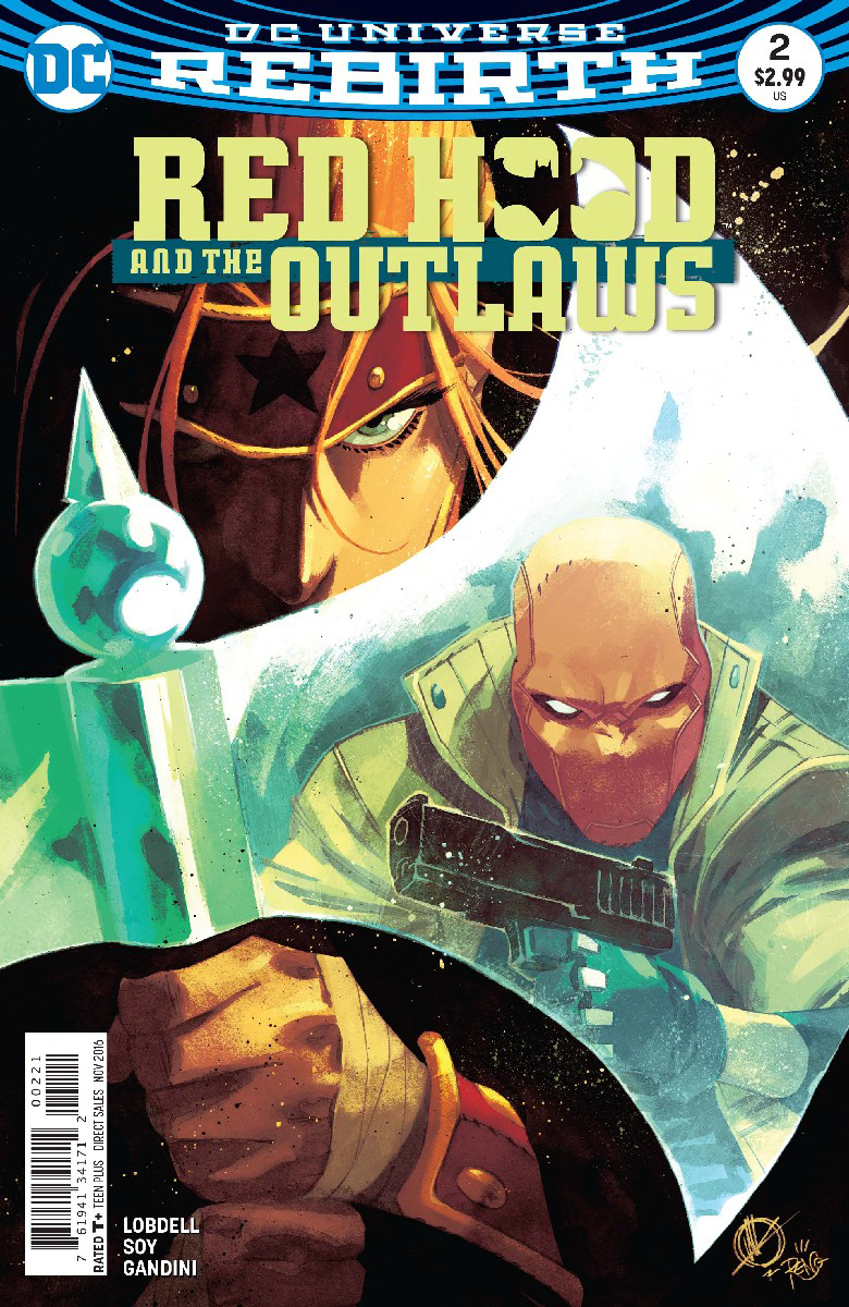 RED HOOD AND THE OUTLAWS #2 VAR ED