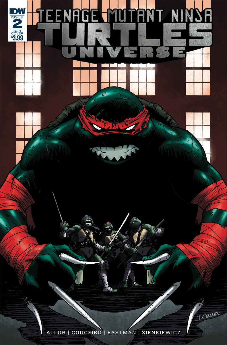 TMNT UNIVERSE #2 SUBSCRIPTION VAR