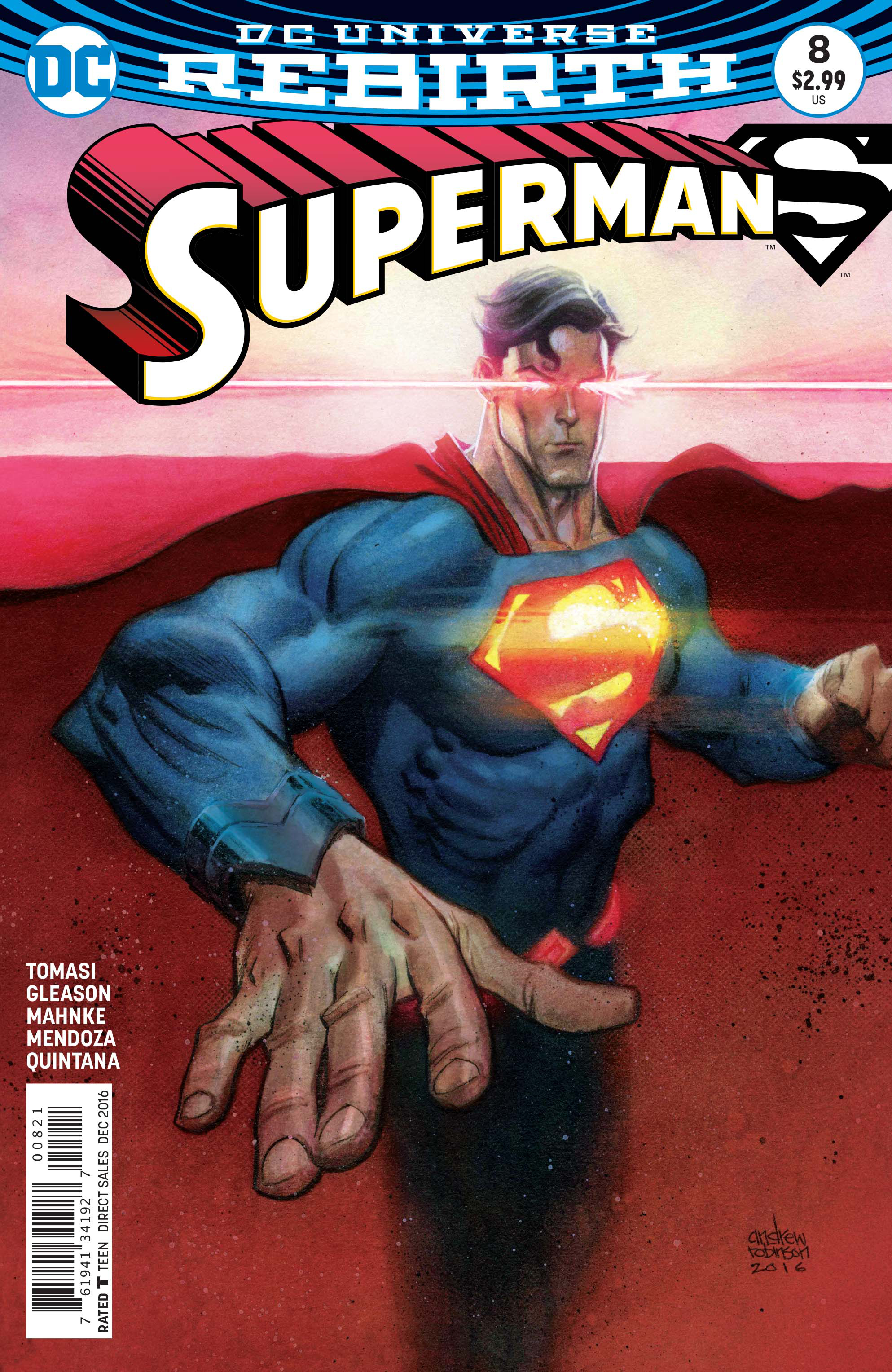SUPERMAN #8 VAR ED