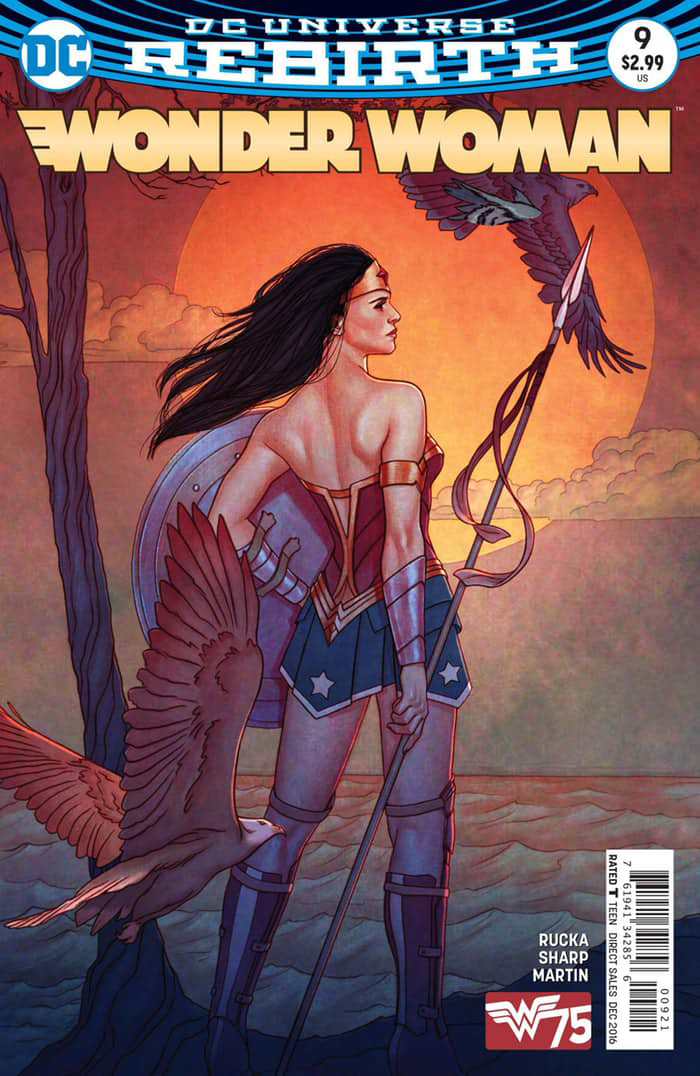 WONDER WOMAN #9 VAR ED