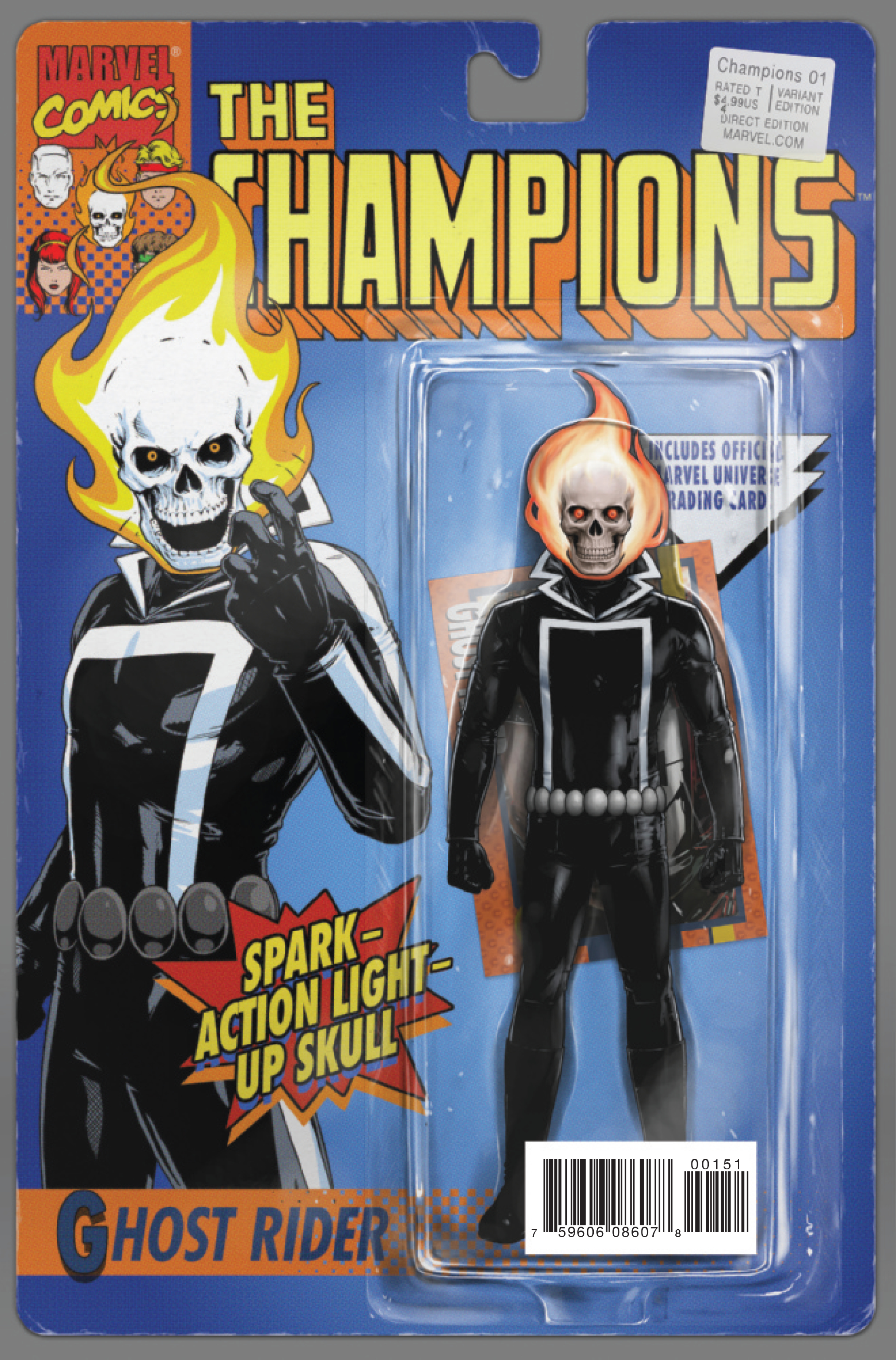 CHAMPIONS #1 CHRISTOPHER CLASSIC ACTION FIGURE VAR NOW