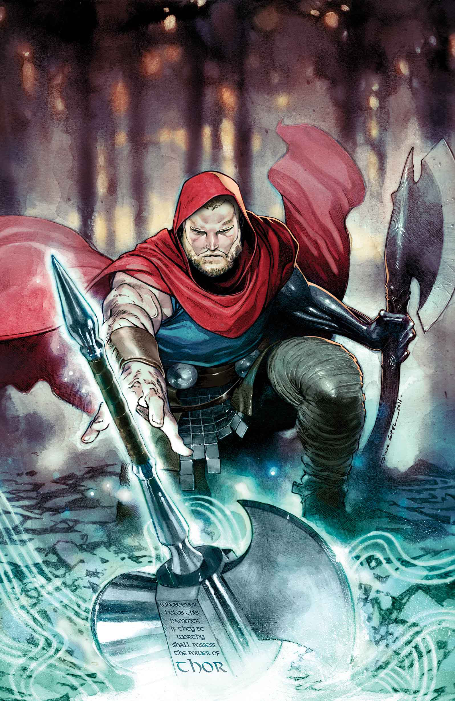 UNWORTHY THOR BY COIPEL POSTER