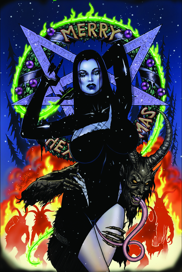 TAROT WITCH OF THE BLACK ROSE #101 (MR)