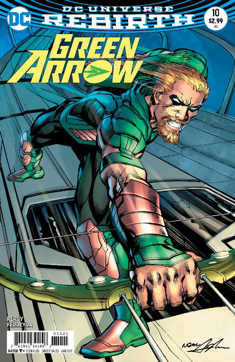 GREEN ARROW #10 VAR ED