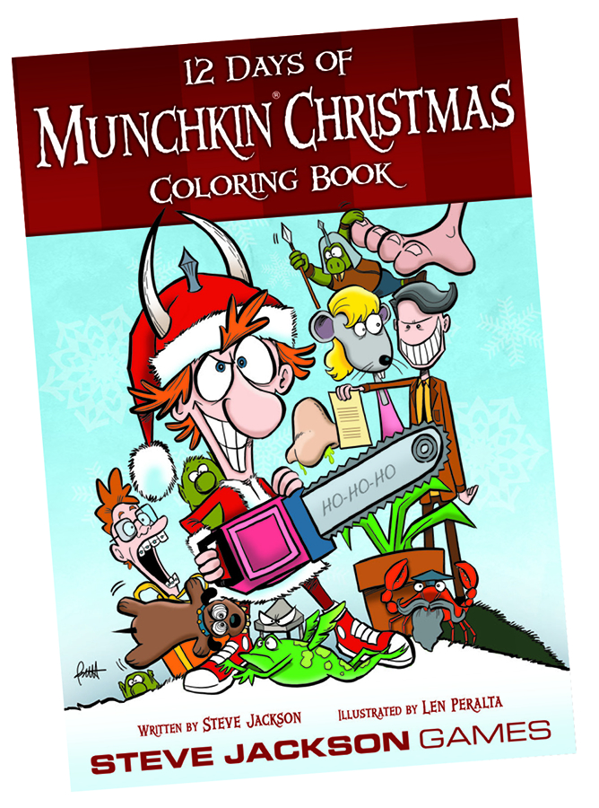 munchkin 12 days of christmas coloring book - 12 Days Of Christmas Book